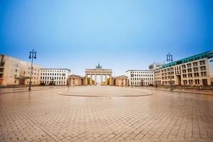 Pariser Platz and Brandenburger Tor during day