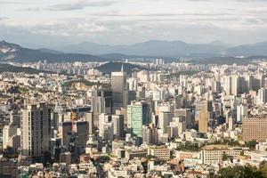 horizonte de Seúl foto