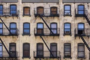 edificio de viviendas de nueva york