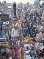 vista de la ciudad de nueva york foto