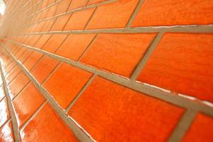 Orange Subway Tiles photo