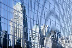 New York City Reflections in Glass