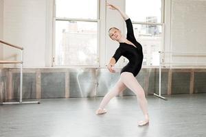 bailarina en pose foto