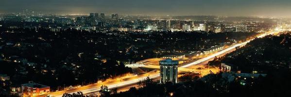 Los Angeles at night photo