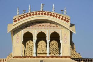 partie supérieure du temple
