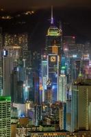 Hong Kong 2015: Night View from Peak photo