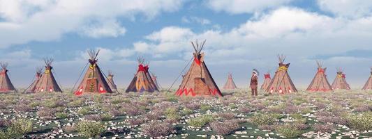 campamento indio