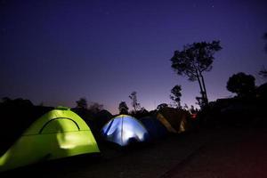 barraca de acampamento