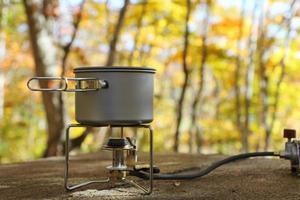 estufa de camping y cocinas