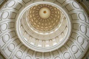 Rotunda of the State Capital building in Austin, Texas photo