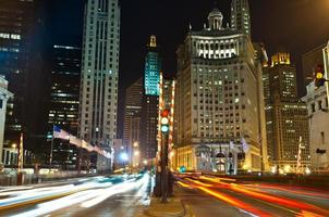 Avenida Michigan en Chicago.