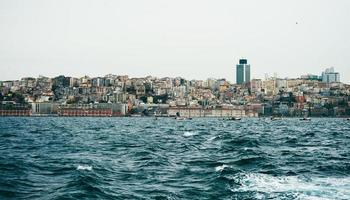 Vista de Estambul, босфорский пролив