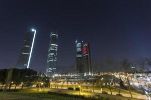 torres en madrid foto