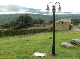rurale landschap in la iglesuela, spanje