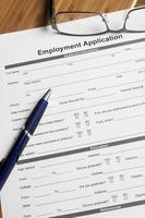 Employment Application photo