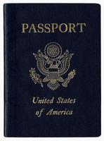 High Resolution U.S. Passport