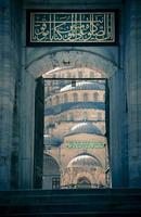 Blue Mosque / Istanbul / Turkey / split toning photo