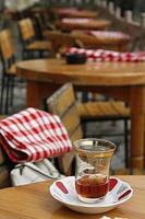 hora del té turco foto