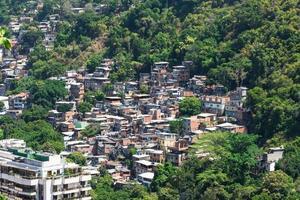 Favela in Rio de Janeiro photo