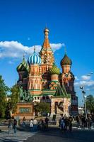 saint basil moscow photo