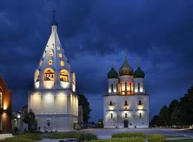 Church in Kolomna Kremlin. Russia