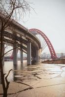bridge in Moscow