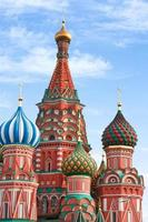 Domes of the famous Head St. Basil's Cathedral photo