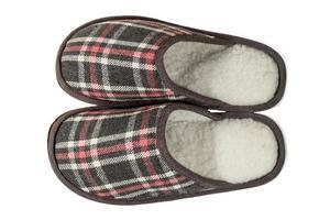 men's slippers photo