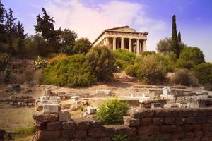 Temple of Hephaestus in Athens photo