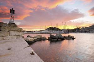 Mikrolimano marina in Athens. photo