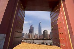 shanghai building view:traditional vs mordern