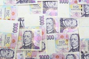 czech money photo