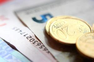 Blinking money photo