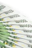 Banknotes.