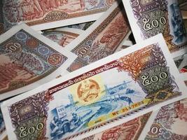 argent du laos
