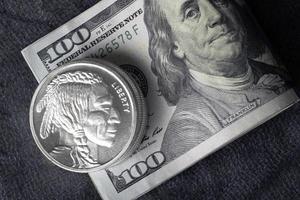 Money and precious metals photo