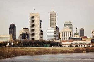 Skyline of Indianapolis