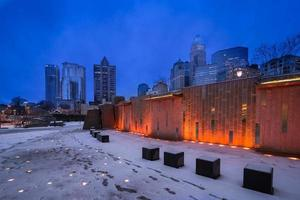 Snowy Charlotte, North Carolina photo