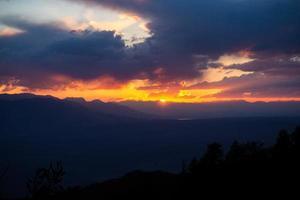 Sunset in Bishop California