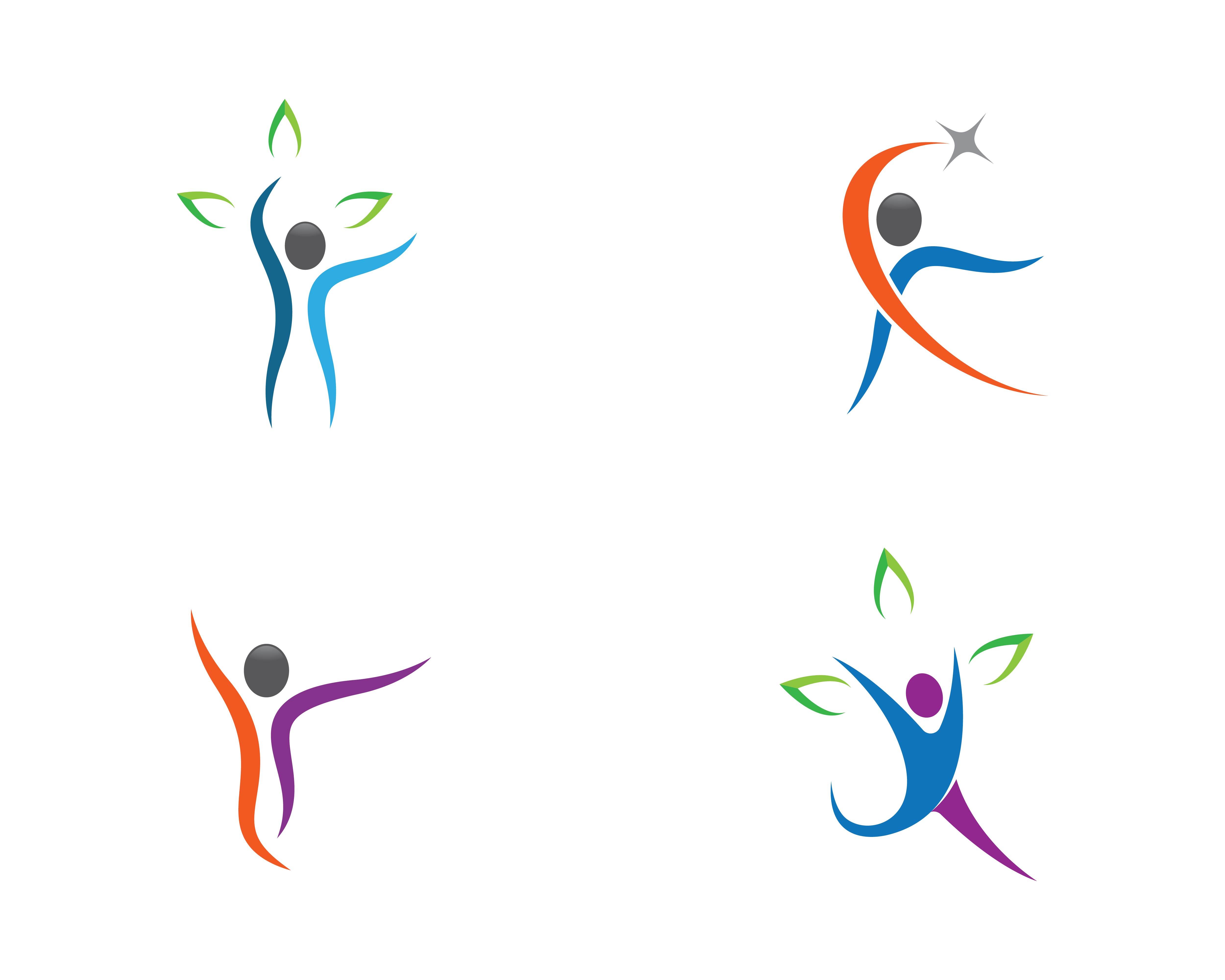 Human Health Symbol Icon Set Download Free Vectors Clipart Graphics Vector Art
