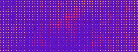 Colorful Halftone Banner