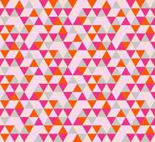 Bright Red and Pink Abstract Triangle Seamless Pattern