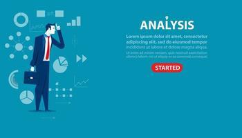 målsida för affärsmananalys