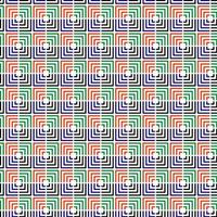 Colorful Disconnected Square Seamless Pattern