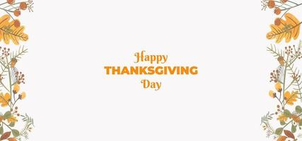 Simple Thanksgiving Day Celebrations  Wallpaper vector