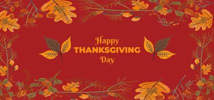 Thanksgiving Day Celebrations Wallpaper vector