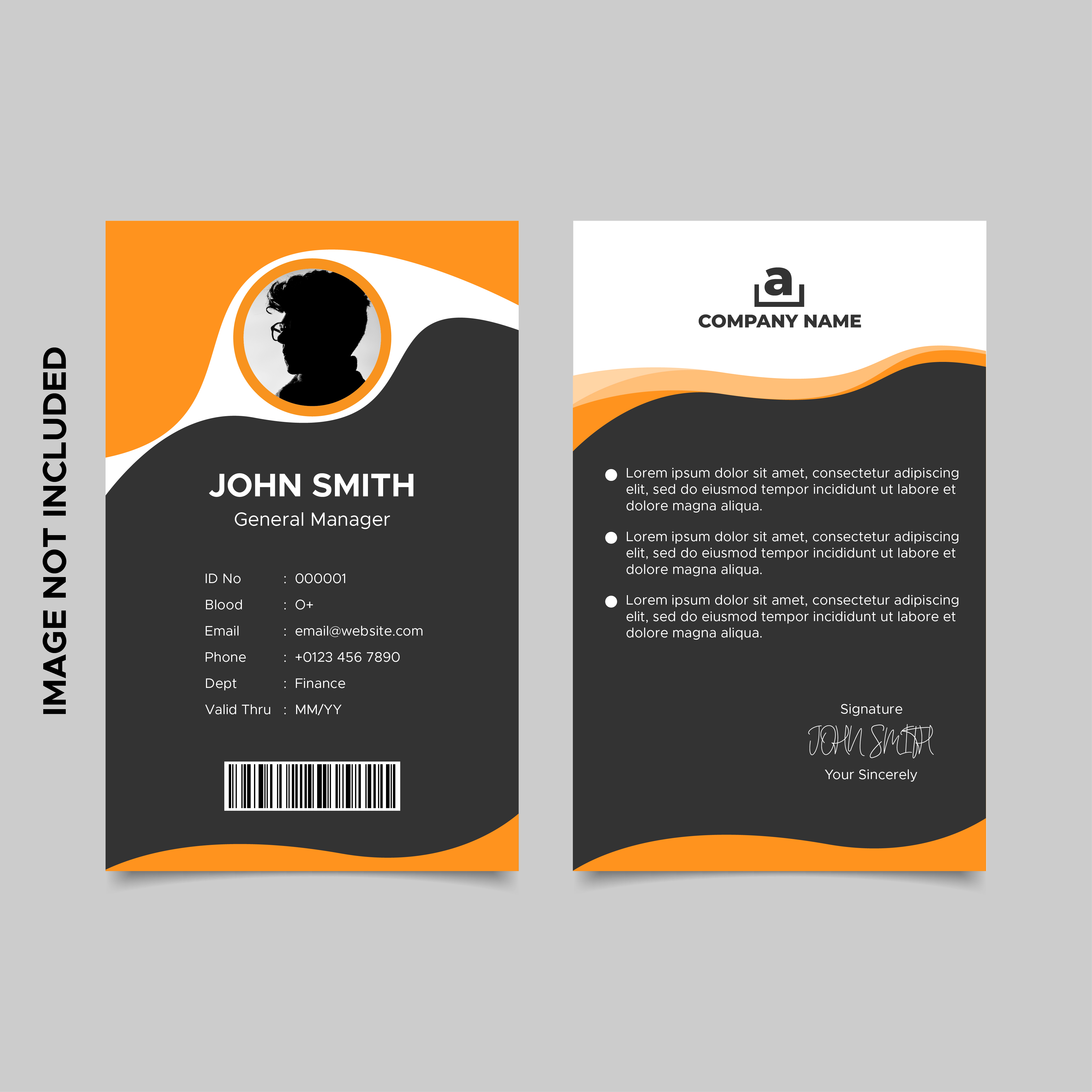 Employee Id Template from static.vecteezy.com