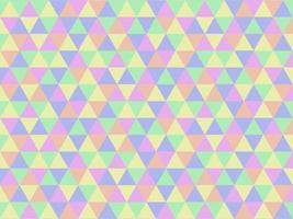 Abstract Pastel Colorful Geometric Triangle Pattern Background