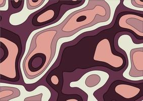 design de topografia de estilo de corte de papel abstrato