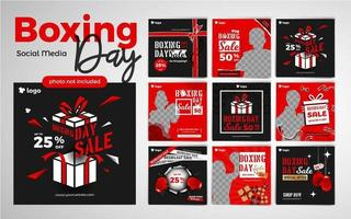 Boxing Day Kids Fashion Social Media Post Template